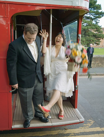 Bus to the Reception