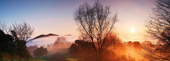 Sunset Over British Camp