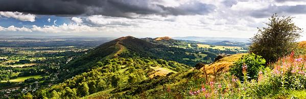 Summer on Malvern Hills
