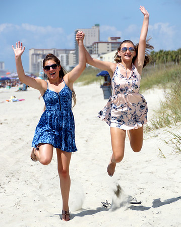 Taylor & Aly in Myrtle Beach