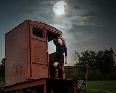 simone train car night sky 1 8x10