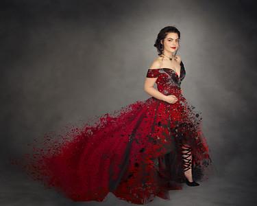 simone prom edit full splatter fin just skirt