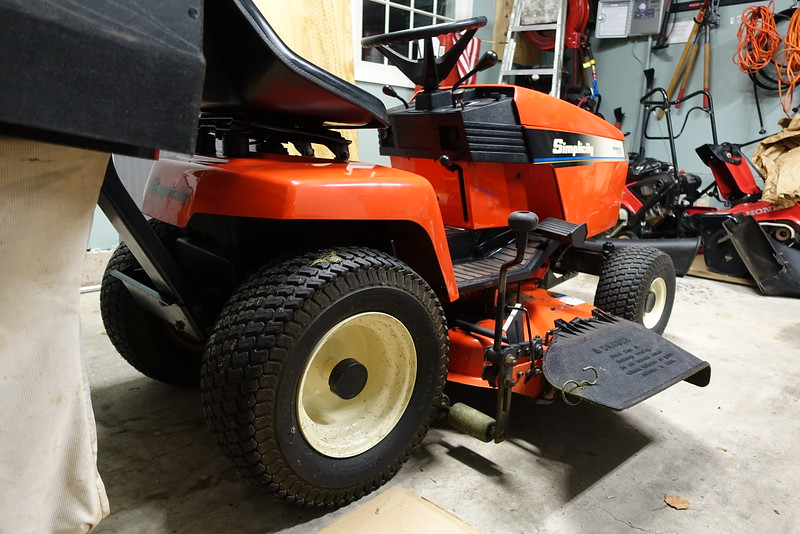 I just paid $600 for a 25 year old tractor *pics inside
