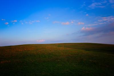 Spring Morning On The Hillside