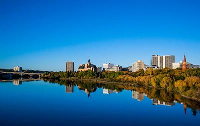 Fall Reflections, Saskatoon, SK