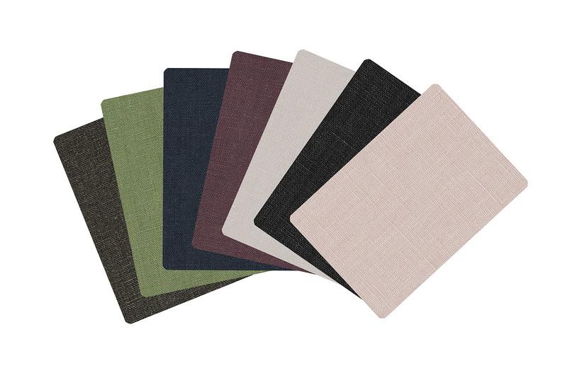 All Linens- Slate sage navy mauve fog black blush