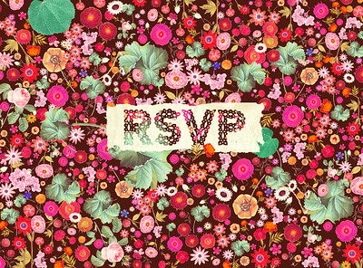 Paradise Found RSVP front