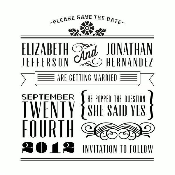The Affair Save the Date Front