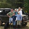 Chris, Renee, Bennett (13), Harrison (11), and Baylor (7) Schramm