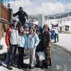 Van, Lisa, Kit (15), Van (14), and Hannah (12) Fletcher