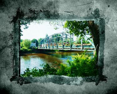 Flower Bridge in Oils