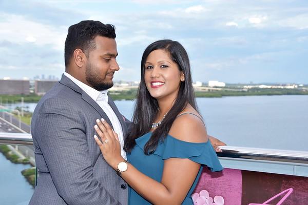 Surprise proposal at Westin Tampa, FL
