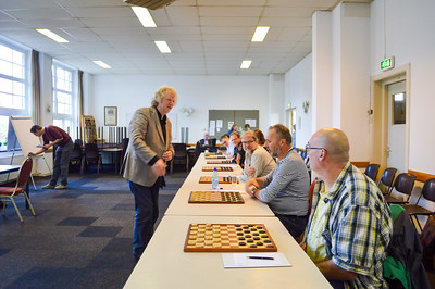 Voorbereiding in Haarlem