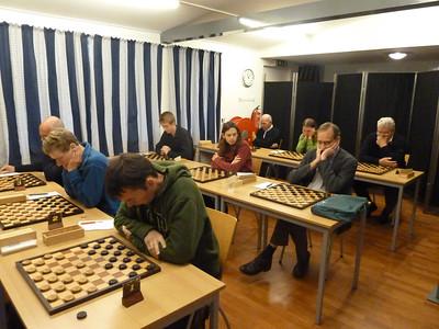Voorbereiding in Wageningen, 9 tegenstanders