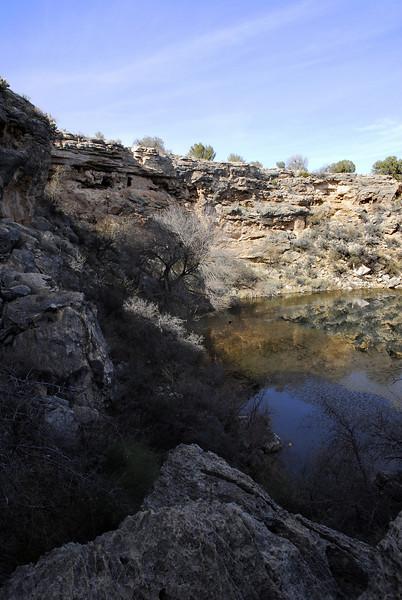 Sinagua Indian Ruins in Central Arizona