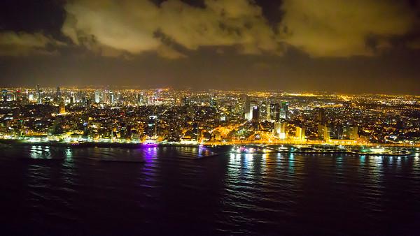 Tel Aviv from Helicopter