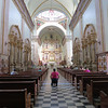 The Interior Of The Beautiful Catedral