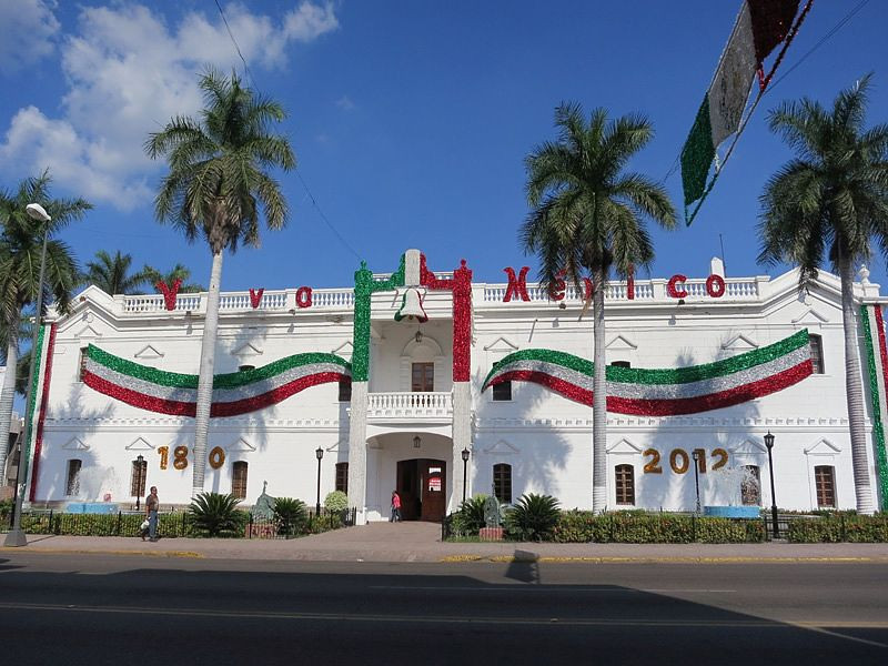 The Palacio Municipal In Culiacan, The State Capital Of Sinaloa
