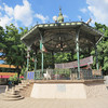 An Ornate Bandstand In Plaza Alvaro Obregon