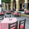 The Plazuela Is Loaded With Restaurants, Bars And Shops