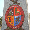 Mazatlan's Coat Of Arms Along The Coast