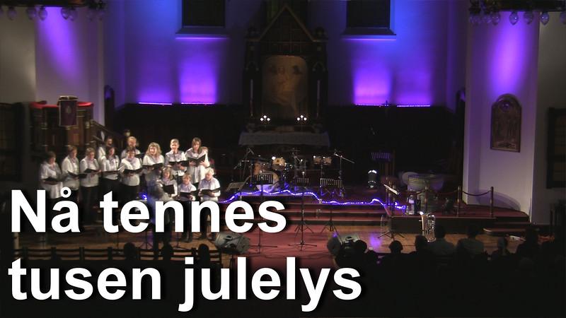 2013_12_06  Sinco Juleshow - 09 Na tennes tusen julelys