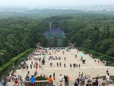 view of Nanjing