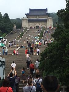 Dr. Sun Yat-sen's Mausoleum  http://www.notablebiographies.com/St-Tr/Sun-Yat-Sen.html