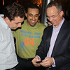 Carlos, Ayman and Larry after dinner in Clarke Quay...photo compliments of Ahsan Yousufzai.