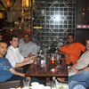 Hanging out with the team at a Shisha Bar...photo compliments of Ahsan Yousufzai.