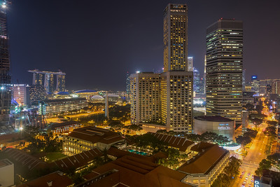 Raffles City - Where the Streets are lined with Gold