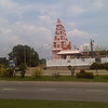 Hindu temple in Port Dickson, Malaysia.  Kinda like Gonzales, TX but different.