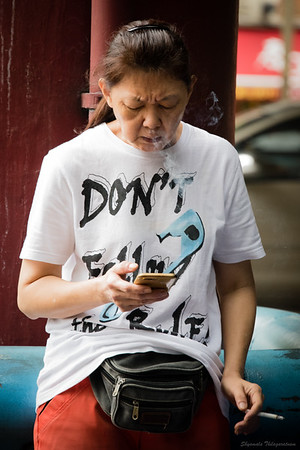 Yes, DON'T SMOKE!