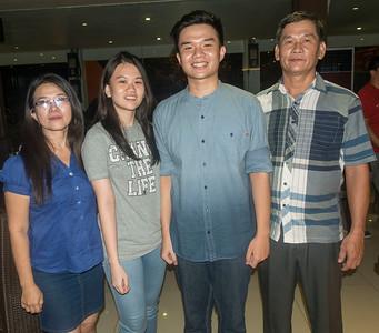 Sansye and family