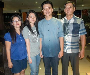 Sansye, and family