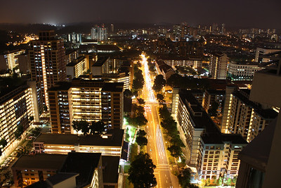 Bishan at Night
