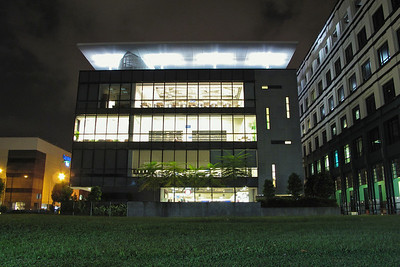 Bishan Library at night