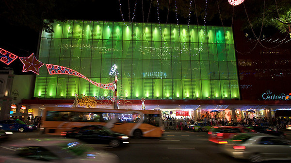 Centrepoint has gone through another revamp. Nothing stands still in Singapore.
