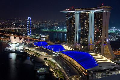 Singapore's new skyline
