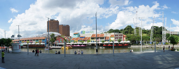 Clark Quay. Photo by Seto