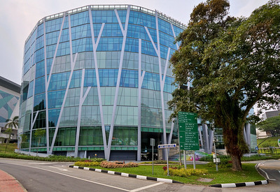 NUS Business School- fancy new building