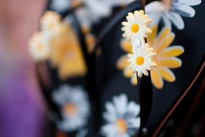 Flowers for her feet