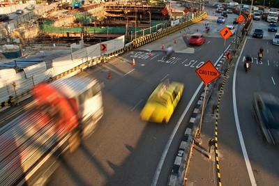 Expressway next to Haw Par Villa