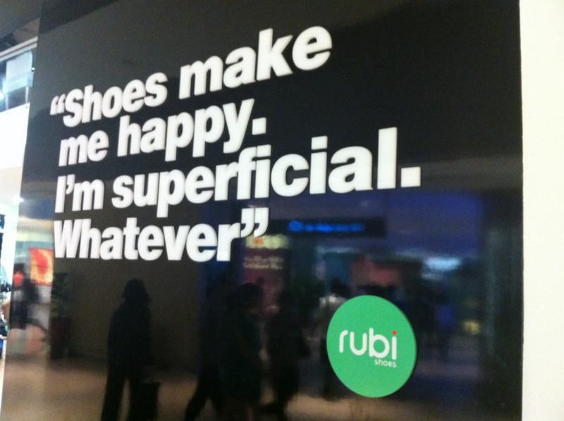 Singapore Shopping Philosophy