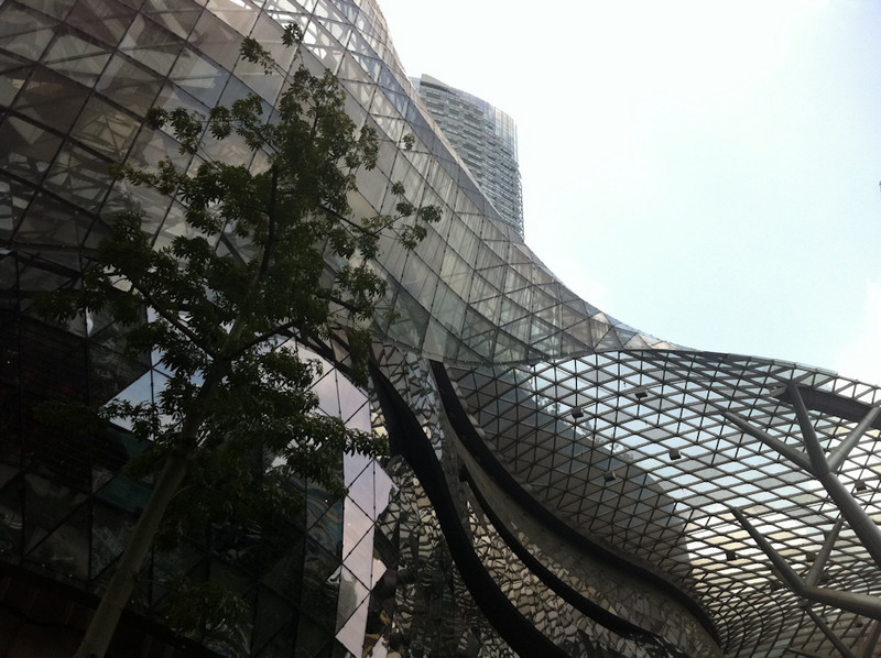 Ion Shopping Mall, Orchard Road, Singapore - spacey!