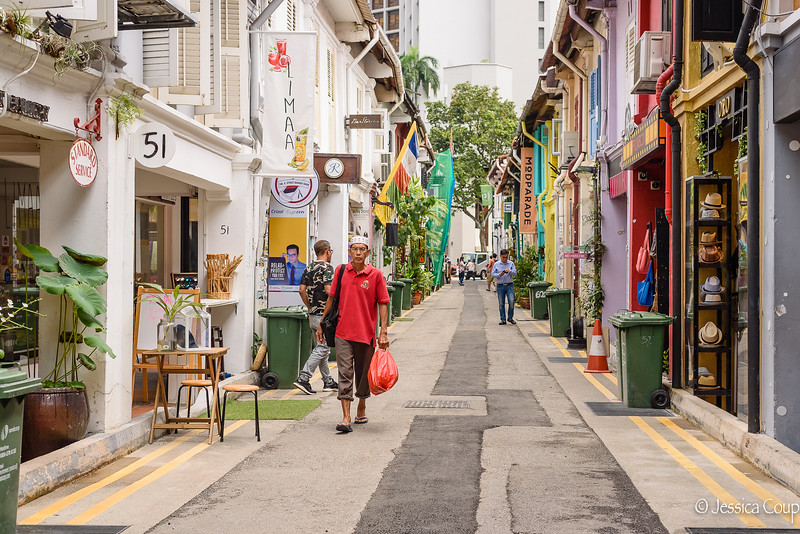 Shops and Cafes of Haji Lane