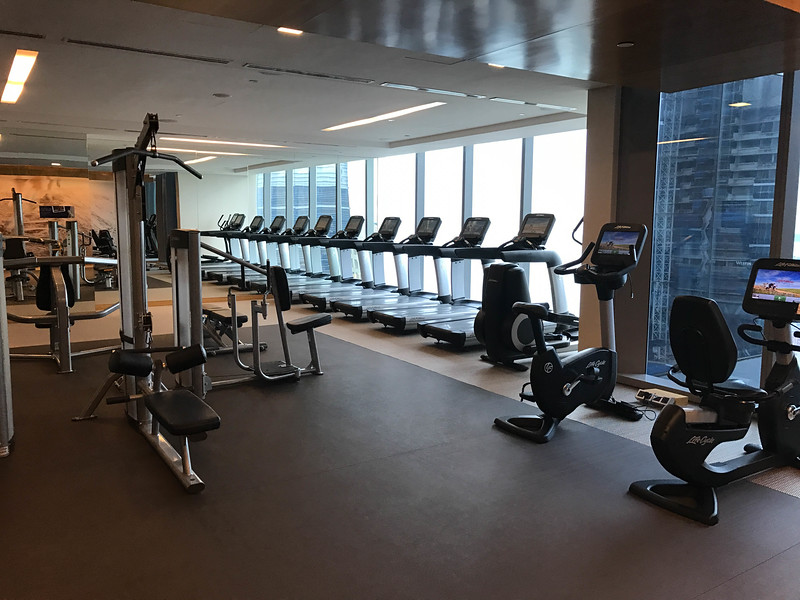westin singapore workout facilities