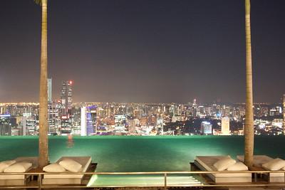 Infinity Pool, Marina Bay Sands Skypark