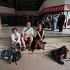 Waiting for the bus to Melaka
