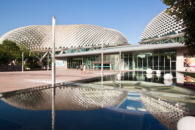 Esplanade – Theatres on the Bay. Singapore